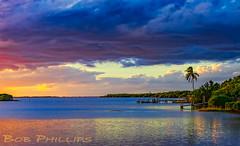 Pineland Sunset (tropicdiver) Tags: pineisland pineland gulfofmexico mangrove palmtree pier sunset