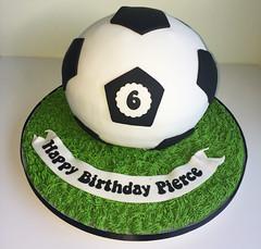 Large Football Cake
