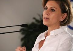 Dolores de Cospedal, secretaria general del PP