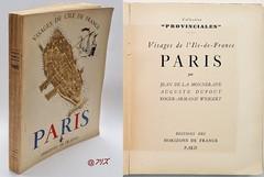 Visages de l'Ile-de-France, Paris. La Monneraye, Horizons de France, 1946 (Kean105) Tags: livresanciens vieuxlivres paris histoire antiquebooks
