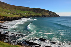 Coumeenole beach (Barbara Walsh Photography) Tags: coumeenole beach sea water swell surfing kerry ireland