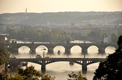 Prague (m.genca) Tags: prague praha praga europe europa repubblicaceca czech czechrepublic marcogenca d7000 nikon september settembre 2016 river bridge ponte ponti vista view panorama panoram landscape city cityscape