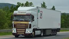 I - Vercesi >244< DAF XF 105.460 SC (BonsaiTruck) Tags: vercesi daf xf 104 244 lkw lastzug lastwagen truck trucks lorries lorry camion