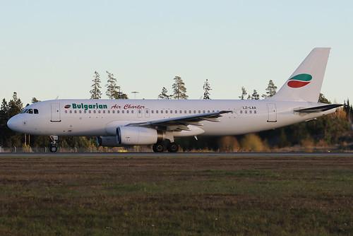 Bulgarian Air Charter Airbus A320-231 LZ-LAA 161029 ARN