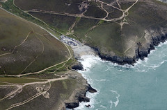 Chapel Porth - home of the World Bellyboard Championships (John D F) Tags: chapelporth cornwall coast worldbellyboardchampionships nationaltrust aerial aerialphotography aerialimage aerialphotograph aerialimagesuk aerialview droneview