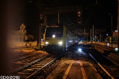 BLS E485.011 (DavideEos) Tags: eisenbahn ferrovia railway treno train zug merci freight binari domodossola sempione