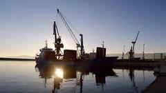 Sunken_Sun (Rijeka u slikama) Tags: rijeka croatia port sea luka