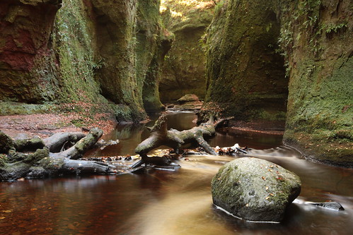 Finnich Glen and 'The Devil's Pulpit'