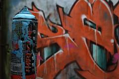 De l'art (regardici1) Tags: verdure usine couleurs villagefantme graffiti