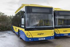 (067) Bus - Anglian - Man EcoCity - WX62 HHF - Beccles
