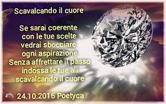 Scavalcando il cuore (Poetyca) Tags: featured image immagini e poesie sfumature poetiche poesia