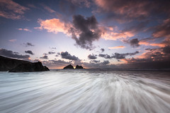 Richard Day 3_209.jpg (r_lizzimore) Tags: holywellbay sunset seascape beach cornwall uk sea