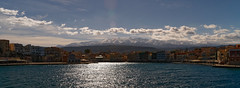Chania_23_021212016-1136 (john houv) Tags: chania crete mediterranean oldharbour oldharbor lighthouse reflection