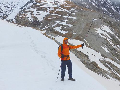 Fabrizio sul Colle Chaberton, 2671 m.