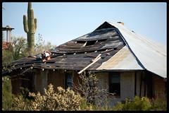 Vulture Mine (~ Lone Wadi Archives ~) Tags: vulturemine abandoned abandonment decrepit empty americansouthwest goldmine oldwest decaying cactus overgrown deserted wickenburgarizona