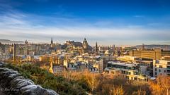 Blue City (Paul S Ewing) Tags: edinburgh uk scotland caltonhill blue cityscape city landscape
