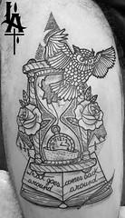 (Fabio Cesti LORSART) Tags: lorsart lorsarttattoo lorsartstudio lorsartattoo tattoo tatuaggio tattoolife tattooenergy tattoomagazine tatuaje tattooartist tatuaggi tatoo tat ta tata italia italiantattooartist italy fata owl time fabiocesti sunskinmachine pantheraink baluardoquintinosella novara novaratattoo ink inknovara