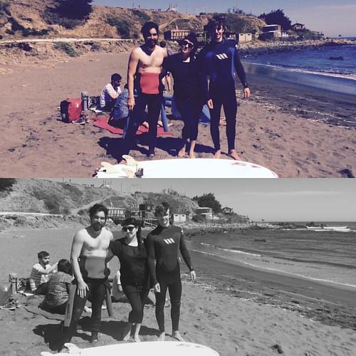 #surfcamp #pichilemu2016 #goodtimes www.puntadelobossurfcamp.cl