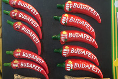 20160916 Budapest, Hungary 03172 (R H Kamen) Tags: budapest easterneurope hungarianculture hungary chilli largegroupofobjects magnet markethall paprika rhkamen souvenir tourism touristsouvenirs westernscript