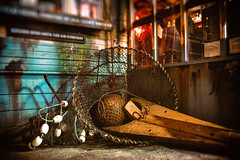 Catch of the Day (jgottlieb) Tags: fishing net catch wood octopus bar wallingford seattle wa washington leica mp typ 240 35mm summilux