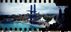 la piscine (vinskatania) Tags: lomography pon ponjabar2016 sprocketrocket lomosprocketrocket believeinfilm ishootfilm staybrokeshootfilm sprocketholes