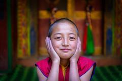 God will give you ticket! (Robie..) Tags: monastries lama religious god india lamayuru place