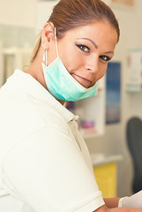 Andi the dentist 2 (Balzs Photo) Tags: tooth indoor dentist woman girl doctor dental dof