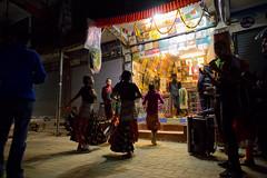 Diwali dancers in Thamel Kathmandu