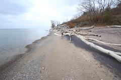 Morningside Park and Lakefront, Toronto (katharinabeniers) Tags: toronto lakeontario morningside hike winter snow lake ontario canada beach