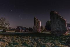 November Night (paul.humphrey82) Tags: neolithicstones starlight night uk astrophotography nationaltrust standingstones field barn stars starrynight stonehenge wiltshire avebury