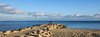 Looking out to sea. (Greatdog) Tags: dorset poole sky sea sandbanks cloudsstormssunsetssunrises