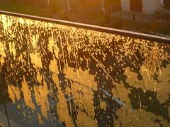 Eisblumen-Gelnder (Jrg Paul Kaspari) Tags: wincheringen november glasgelnder eis ice gefroren eisblume eisformation glas water wasser eau frost frostflower iceflowers