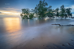 Lukut sunset (Alex cheong) Tags: slowshutter seascape sunset lukut fe1635mm a7r sonya7r sonymalaysia malaysia