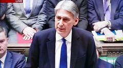 2016 1123 009 (PLX100) Philip Hammond; Autumn Statement (BBC2) (Lucy Melford) Tags: panasoniclx100 parliament houseofcommons autumnstatement chancellor philip hammond