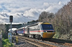 1 Swallow Makes an Autumn (Better Living Through Chemistry37) Tags: 43185 1a82 first firstgroup greatwesternrailway railways transport transportation trains hollicombe hst highspeedtrain