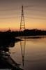 Merseyside Autumn (14 of 16) (andyyoung37) Tags: runcorn pylon refelections rivermersey sunset warrington england unitedkingdom gb