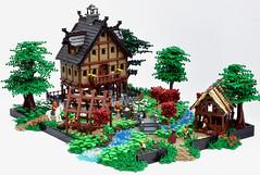 Konigsfeld Manor (MassEditor) Tags: castle lego manor guilds historica