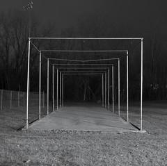 (orangedot777) Tags: night nocturne symmetry urbangeometry squareformat square