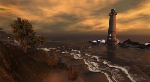 The Lighthouse at Black Basalt Beach by Tripp Nitely, on Flickr