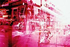 (lumieb) Tags: trip travel film 35mm thailand exposure doubleexposure bangkok films double multipleexposure 35mmfilm 135 expired ektachrome bkk expiredfilm etoc filmphoto 135film film135 bangkokstreet filmpic bangkokstyle bangkokurban exposuredfilm 135photo filmetoccrossprocessmultipleexposuredouble kodakektae100