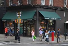 Go your own way (Maurits van den Toorn) Tags: street city nyc people usa newyork walking crossing broadway pedestrian deli oneway manhattaan