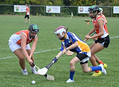 Philadelphia Shamrocks vs. St. Brigid's in camogie at GAA Limerick fields Sunday August 23