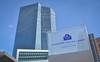 Europäische Zentralbank (EZB) - Frankfurt am Main (Pascal Heinrich) Tags: camera skyline skyscraper germany deutschland am european hessen frankfurt main central bank r stadt architektur dslr dsl kamera hochhaus mainhattan ezb zentralbank spiegelreflex spiegelreflexkamera europäische