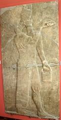 Standing genie (Merja Attia) Tags: museum turkey istanbul palace relief ii marble treeoflife slab genie ashurnasirpal nimrud kalhu assumasirpal museumoftheancientorient