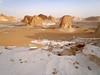 White desert (denismartin) Tags: sky cloud sand egypt sandstorm limestone geology egypte bahariya dakhla whitedesert westerndesert farafra libyandesert chalkrock desertblanc denismartin farafradepression
