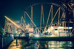 Prater (Jacek Dylag) Tags: vienna wien art austria nikon sigma wiedeń amusementpark rollercoaster prater 3514 d4 kolejka miasteczko wesołe górska