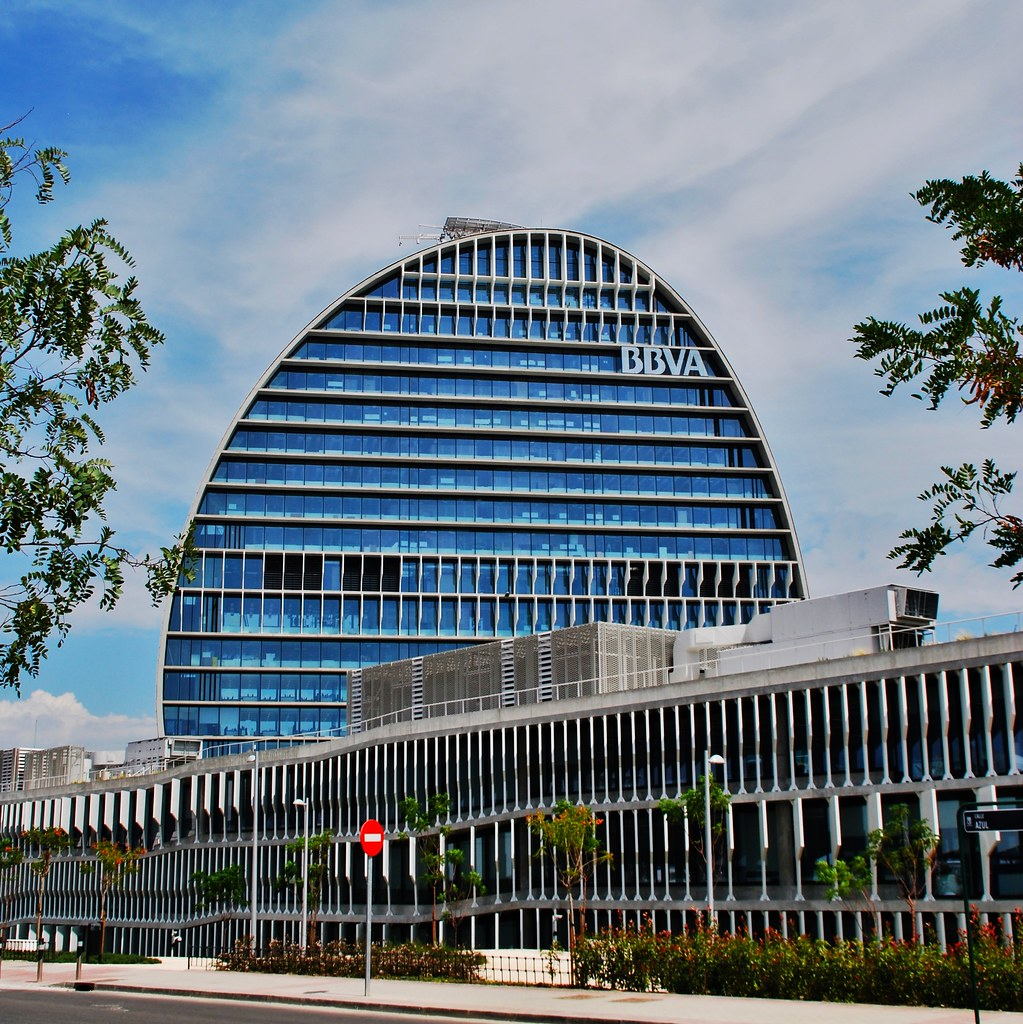 The world 39 s best photos of fibradecarbono flickr hive mind for Oficinas bbva madrid capital
