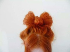 Red (Nicolaspeakssometimes) Tags: selfportrait hair redhead bow hairbow