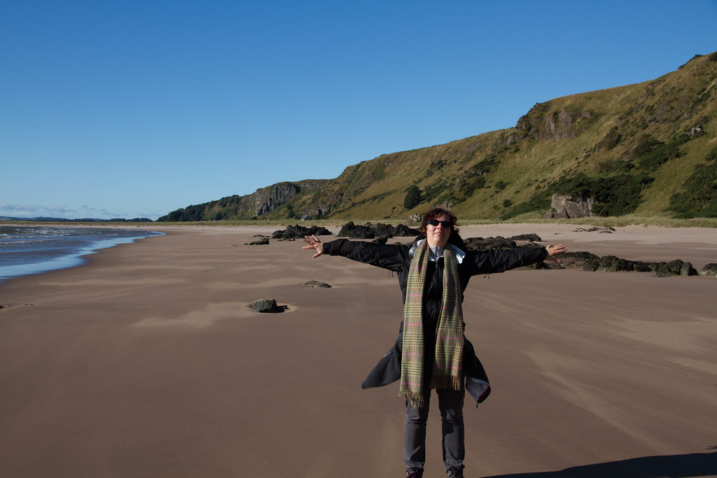 Scotland - St Cyrus Beach