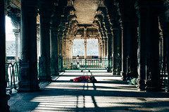 Sleeper (Jumbleh) Tags: travel india temple sri ranganathaswamy